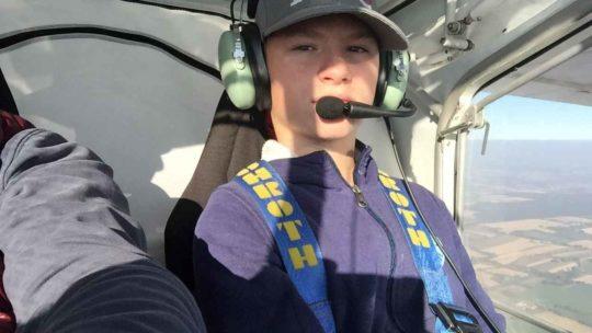 Le plus jeune pilote de France est à Pouancé !